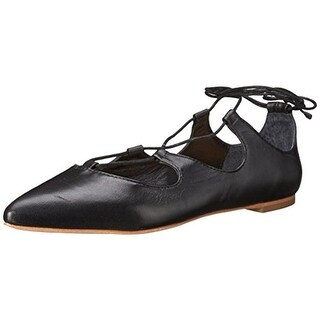 Loeffler Randall Womens Ambra Ballet Flats Leather Pointed Toe