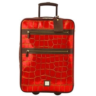 Dooney & Bourke 21-inch Croco Embossed Rolling Suitcase (Introduced by Dooney & Bourke at $795 in Oct 2013)