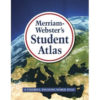 Merriam-Webster 089061 Intermediate Student Atlas