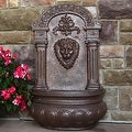 Sunnydaze Imperial Lion Outdoor Wall Fountain - Thumbnail 6