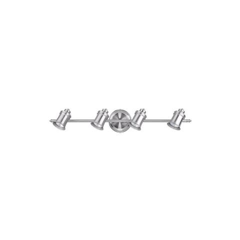 """Canarm IT299A0410 Taylor 4-Light 29"""" Wide Fixed Rail - Ceiling or Wall Mount"""
