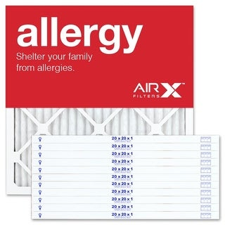 Replacement Air Filter 20x20x1 MERV 11 Comparable to Filtrete Allergen Defense MPR 1000 1085 1200, Odor Reduction MPR 1200, 12Pk
