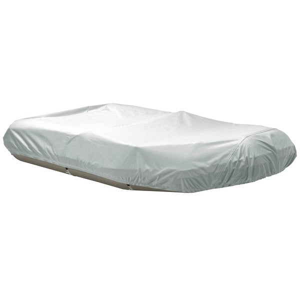 "Dallas Manufacturing Co. Polyester Inflatable Boat Cover D - Fits Up to 12'6"", Beam to 74"""