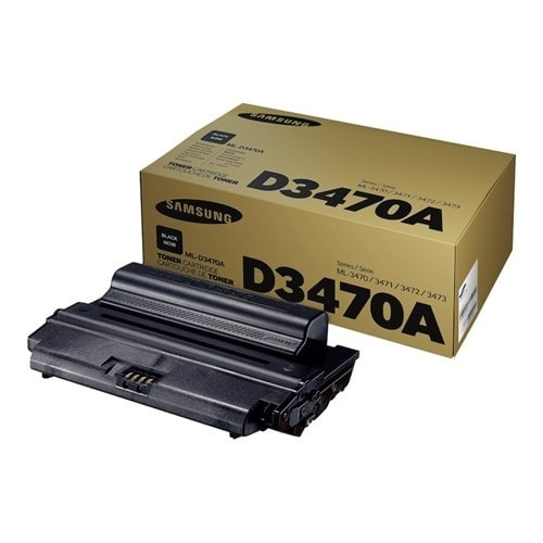 """Samsung ML-D3470A Black Toner Cartridge Toner Cartridge"""
