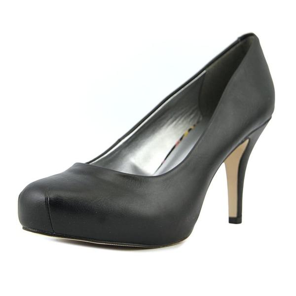 Madden Girl Getta Women Round Toe Synthetic Black Heels