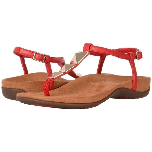 4965cbb177cb Shop Vionic Womens Rest nala Open Toe Casual T-Strap Sandals - 9 ...