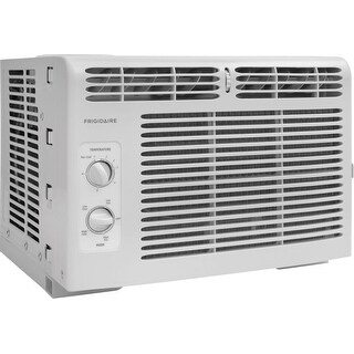 Frigidaire FFRA0511Q1 5,000 BTU Window Mounted Air Conditioner with Adjustable Side Panels - White - N/A