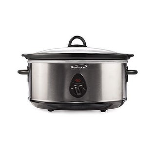 """Brentwood Slow Cooker And Steamer Cooker-Steamer"""