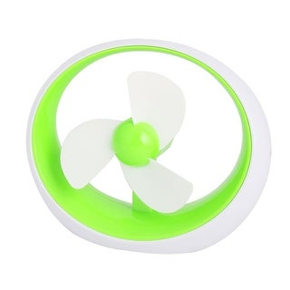 Portable USB Powered Mini Fan Gadgets for Notebook Desktop Green