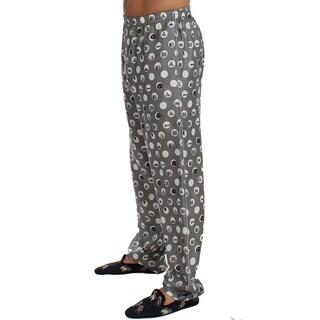 Dolce & Gabbana Dolce & Gabbana Silver SILK Pajama Lounge Pants - M