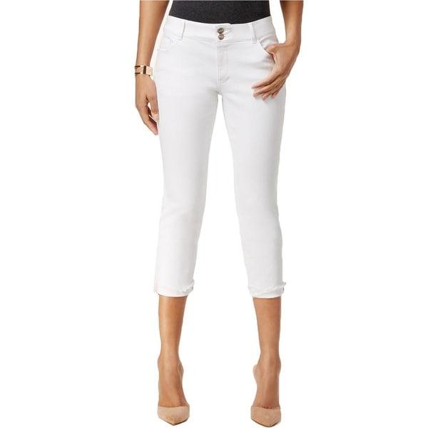 Nanette Lepore Womens Madison Capri Jeans Denim Mid-Rise