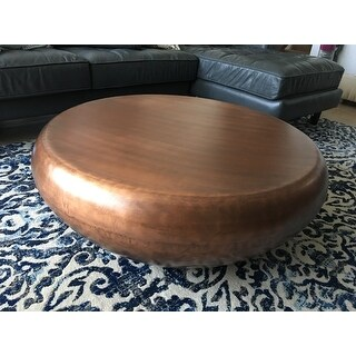 Shop Safavieh Patience Copper Coffee Table On Sale
