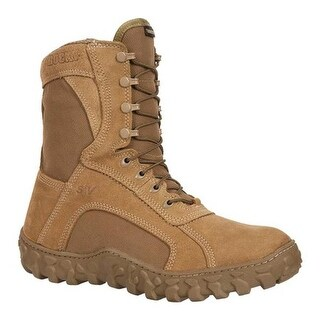 Rocky Men's S2V GTX WP 400G Insulated Military Boot FQ00104-1 Coyote Brown Leather