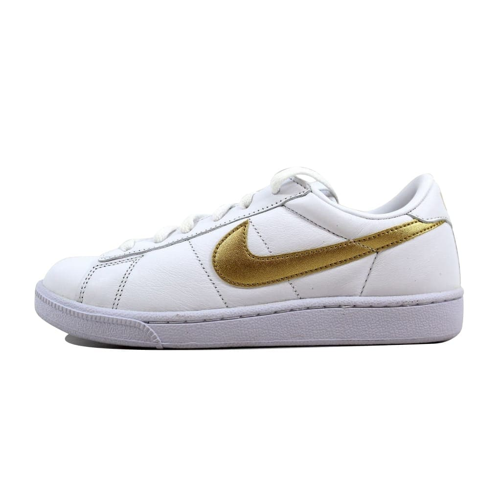 the best attitude 6a2a6 cb945 Shop Nike Women s Tennis Classic White Metallic Gold-Desert nan 312498-171  Size 6 - Free Shipping Today - Overstock - 22919557