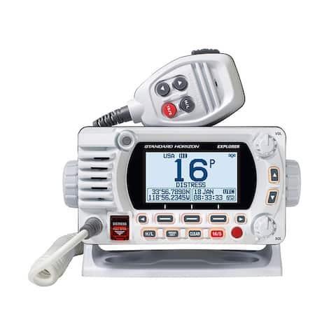 Standard Horizon GX1850GW - White Fixed Mount VHF with GPS