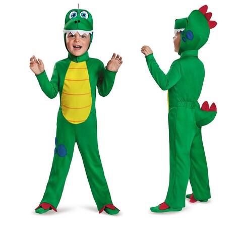 Toddler Green Dinosaur Halloween Costume