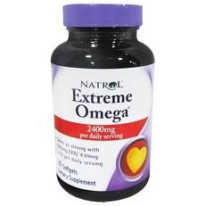 Natrol Extreme Omega Fish Oil (60 Softgels)