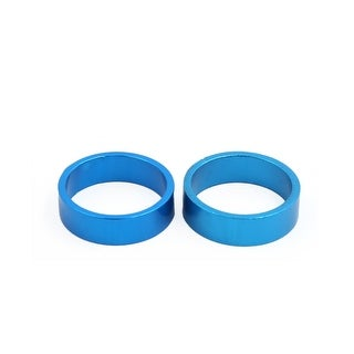 2 Pcs 29mm Inner Dia Stem Headset Washer Spacer Blue for Mountain Bike Bicycle