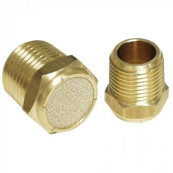 Apache 99019240 Brass Hydraulic Breather Vent Plug, 1/2
