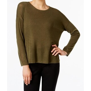 Eileen Fisher NEW Green Women's Size Medium M Scoop Neck Wool Sweater|https://ak1.ostkcdn.com/images/products/is/images/direct/1acbc0dd103ca8ffe4f2df80b13f577f9862dc1b/Eileen-Fisher-NEW-Green-Women%27s-Size-Medium-M-Scoop-Neck-Wool-Sweater.jpg?_ostk_perf_=percv&impolicy=medium