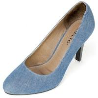 Rialto Womens Coline Fabric Closed Toe Classic Pumps