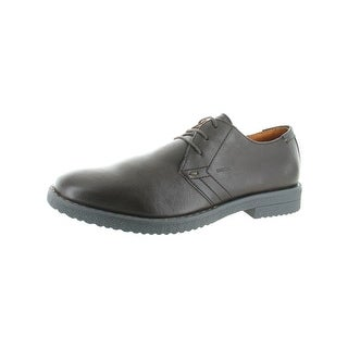 Geox Mens Brandled Oxfords Leather Breathable