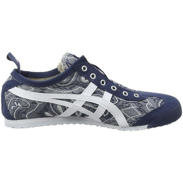 womens onitsuka tiger mexico 66 shoes white purple quilted