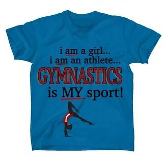 FONiE Gymnastics Is My Sport Kids T-Shirt