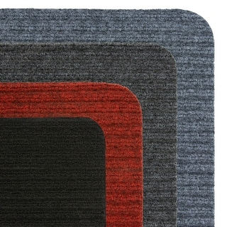 Porch & Den Ihler Ribbed Indoor/Outdoor Mat Area Rug