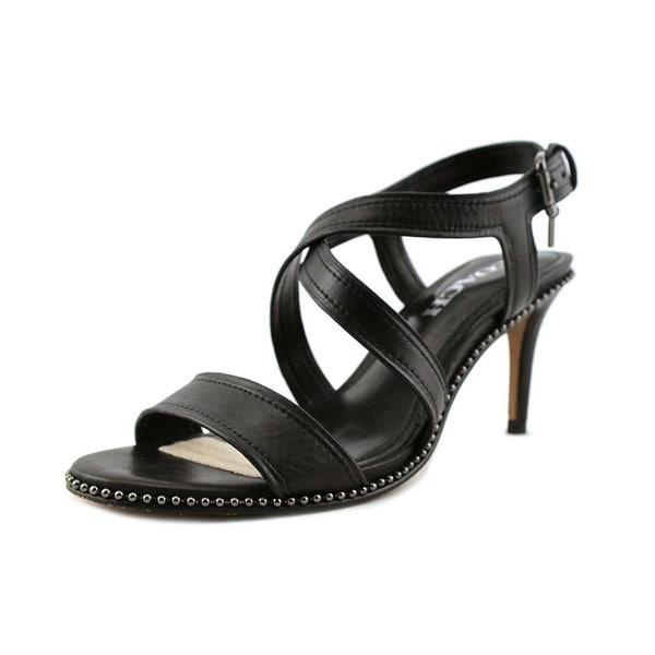 Coach Womens wendi semi matte calf Open Toe Casual Ankle Strap Sandals - 5