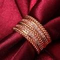 Rose Gold Trio- Layered Ring - Thumbnail 3
