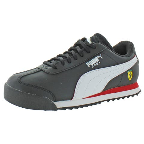 Puma Boys SF Roma Jr Sneakers Leather Lace Up
