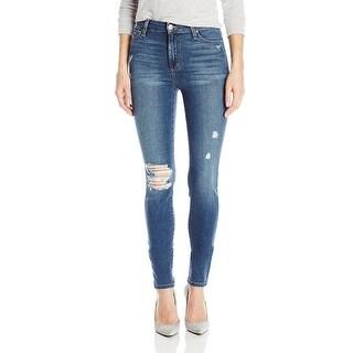 Joe's Jeans Charlie High Rise Distressed Skinny Jeans Pants