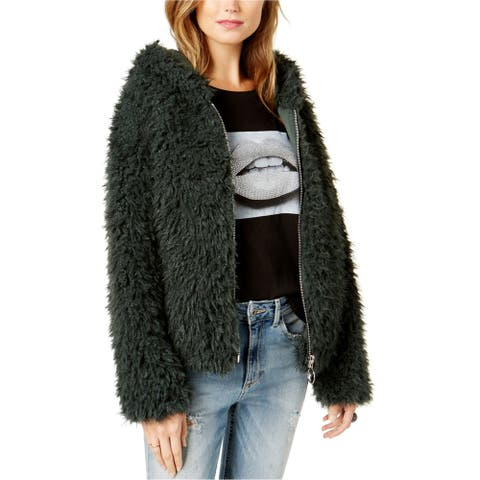 GUESS Womens After Party Jacket, green, X-Large