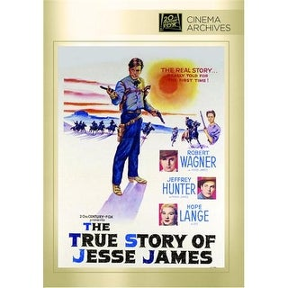 True Story Of Jesse James, The DVD Movie 1957
