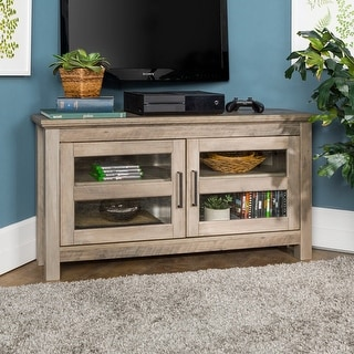 Link to Copper Grove Bow Valley 44-inch Corner TV Stand Similar Items in TV Stands & Entertainment Centers
