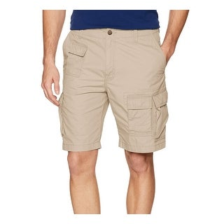 Nautica True Stone Beige Mens Size 30 Modern Fit Cargo Shorts