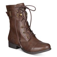 American Rag Womens Afionn Closed Toe Ankle Fashion Boots