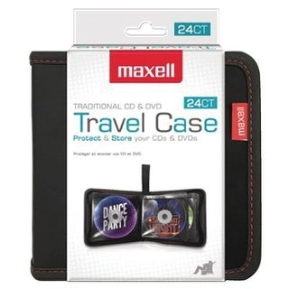 Maxell RA47478 24-Capacity CD Storage Case