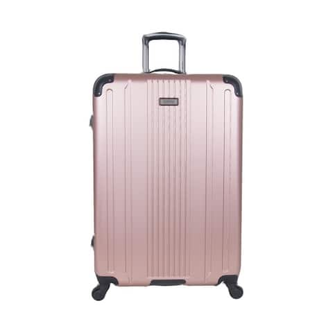 Kenneth Cole Reaction 'Gramercy' 28in Lightweight Hardside ABS 4-Wheel Spinner Checked Suitcase
