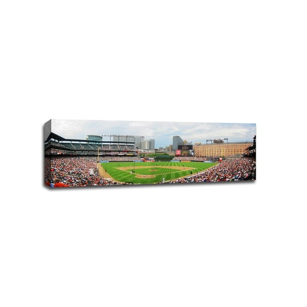 Camden Yards - MLB - Baseball Field - 48x16 Gallery Wrapped Canvas Wall Art
