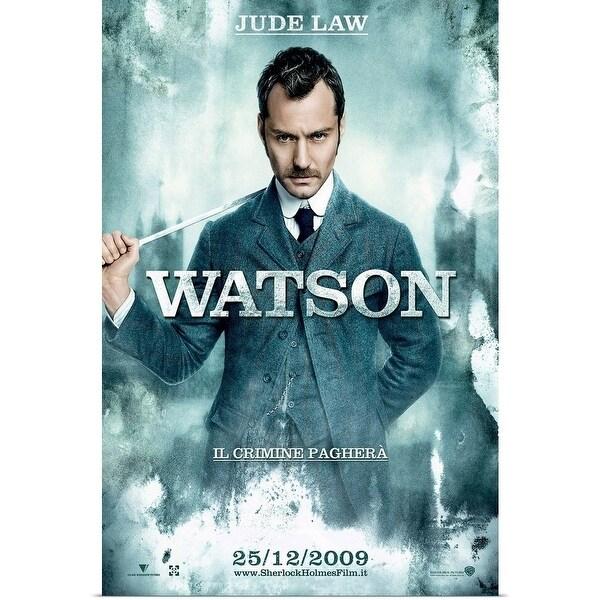 Shop Poster Print entitled Sherlock Holmes - Movie Poster - Italian