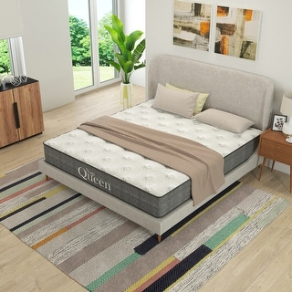 """Link to Nap Queen Victoria 10"""" Cooling Gel Hybrid Mattress Similar Items in Innerspring Mattresses"""