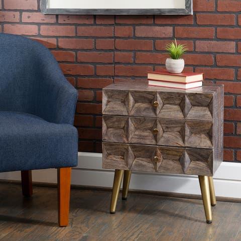 Prescott Three Drawer Cabinet
