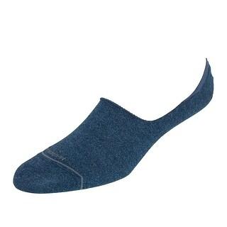 Marcoliani Men's Pima Cotton Solid Invisible Touch Sock Liners