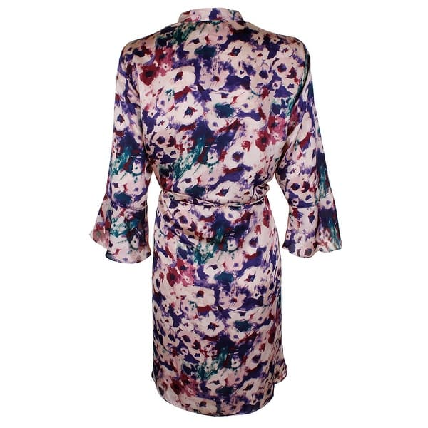Shop Lauren Ralph Lauren Plus Size Pink Multi Bell-Sleeve ...