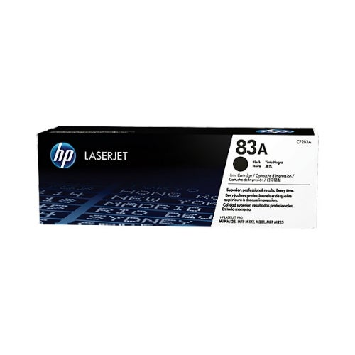 Hewlett Packard CF283A HP 83A (CF283A) Toner Cartridge - Black