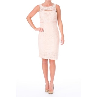 Sue Wong Womens Lace Cut-Out Cocktail Dress - 6