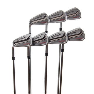 New TaylorMade Tour Preferred CB Irons 3-PW (No 6i) AMT S300 LEFT HANDED