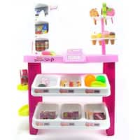 Dessert Shop, Luxury Supermarket & Grocery Playset - 40 Piece